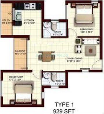 marg utsav apartment 2bhk 929sqft1
