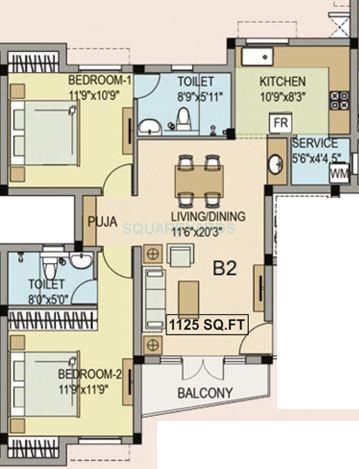 navin housing maris dale apartment 2bhk 1125sqft1