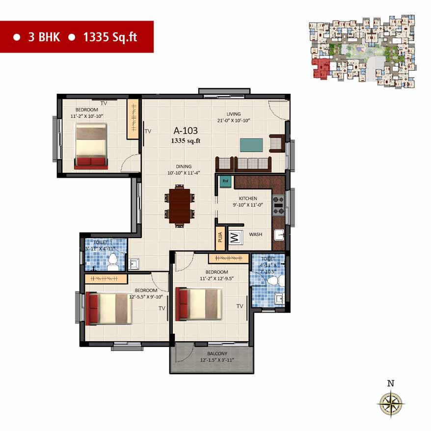 navins sanctum apartment 3bhk 1335sqft 1