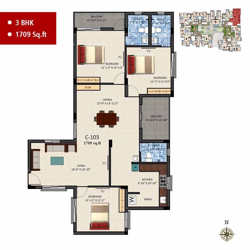 navins sanctum apartment 3bhk 1709sqft 1