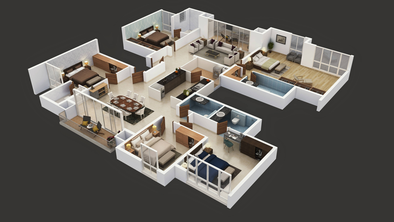 puravankara purva somerset house apartment 5 bhk 3750sqft 20215230135205