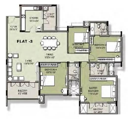 puravankara windermere apartment 4bhk 2691sqft1