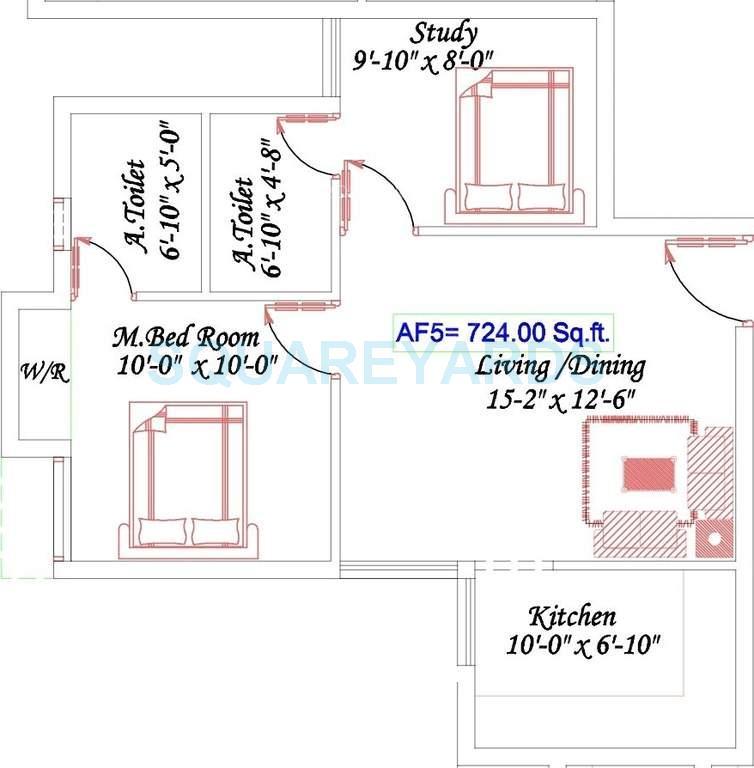 royal splendour aadhira apartment 2bhk 724sqft1
