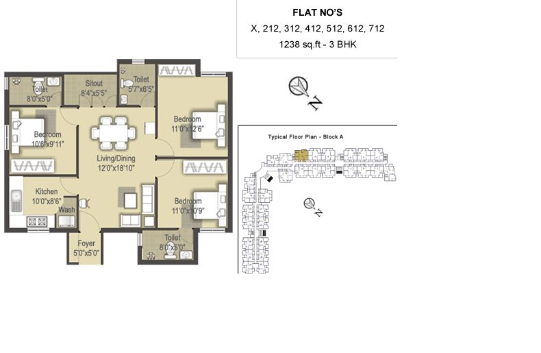sis marakesh apartment 3bhk 1238sqft 1