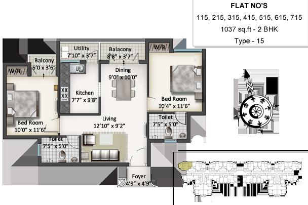 sis queenstown apartment 2bhk 1037sqft 1