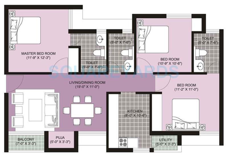 Unitech ananda in perambur chennai project overview for Apartment plans chennai