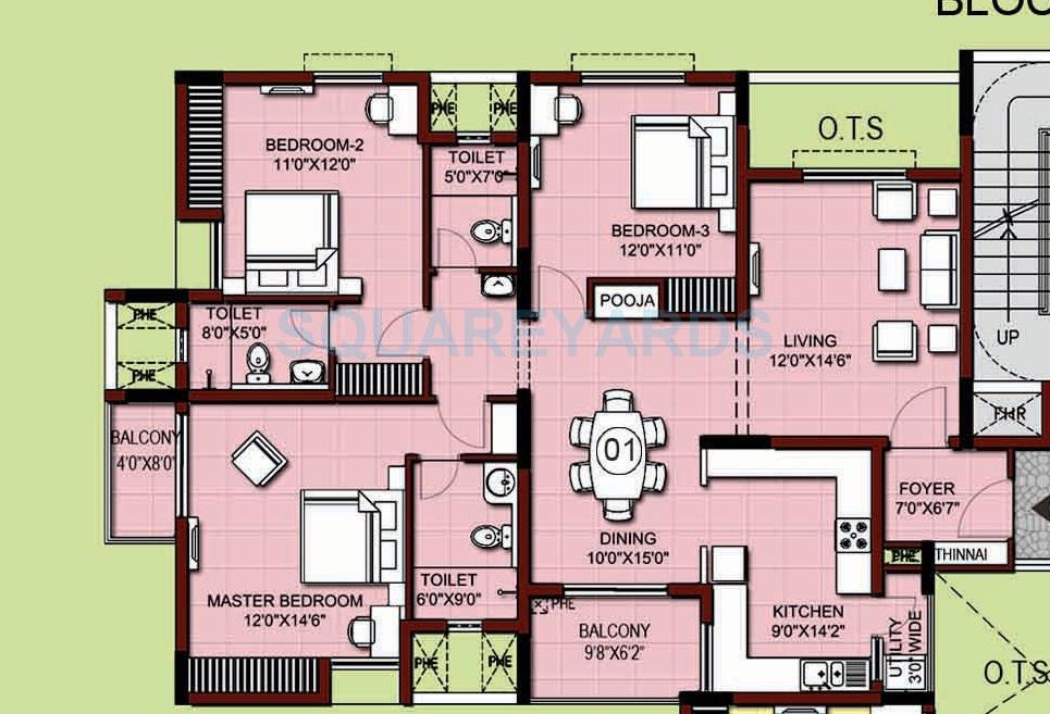 Xs real siena in kelambakkam chennai project overview for Apartment plans chennai