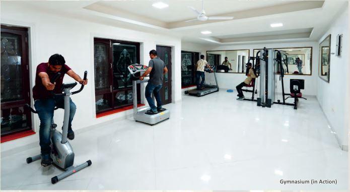 aradhana greens project gymnasium image1