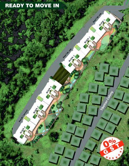 aradhana greens project master plan image1