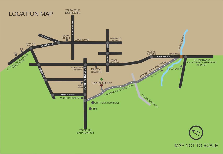 capital greenz location image1