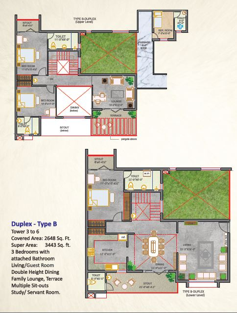 aradhana greens apartment 3 bhk 3443sqft 20204714114751