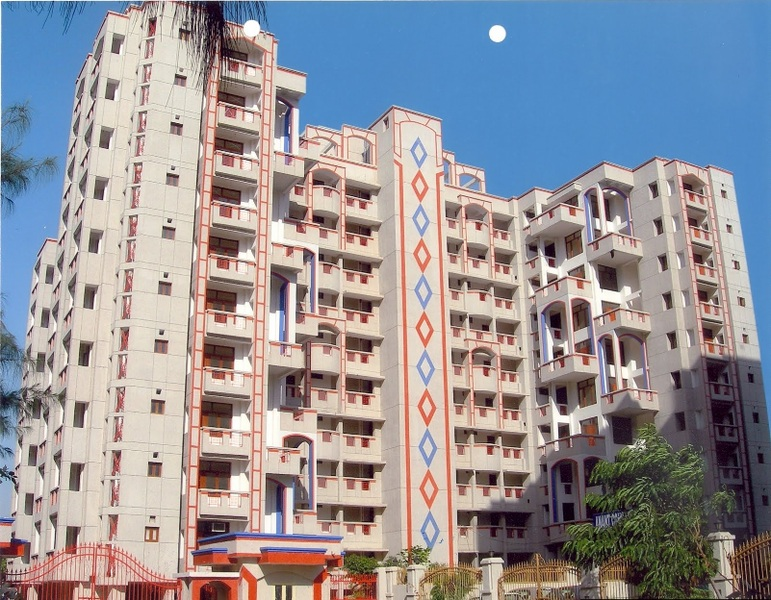 anamika apartment dwarka project tower view1