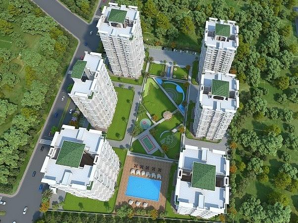 antriksh embassy enclave tower view4