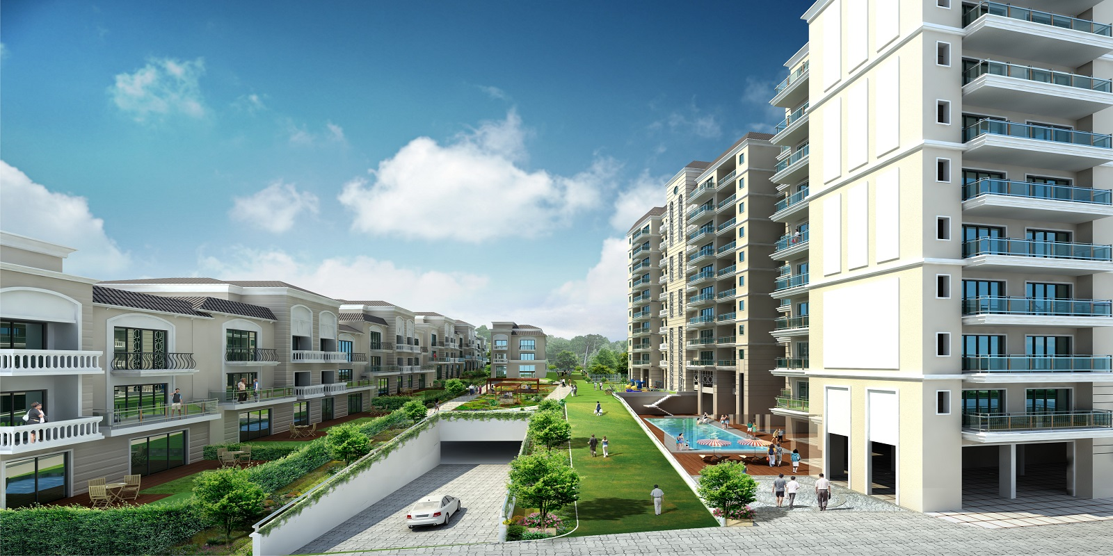 dlf kings court villa project large image1