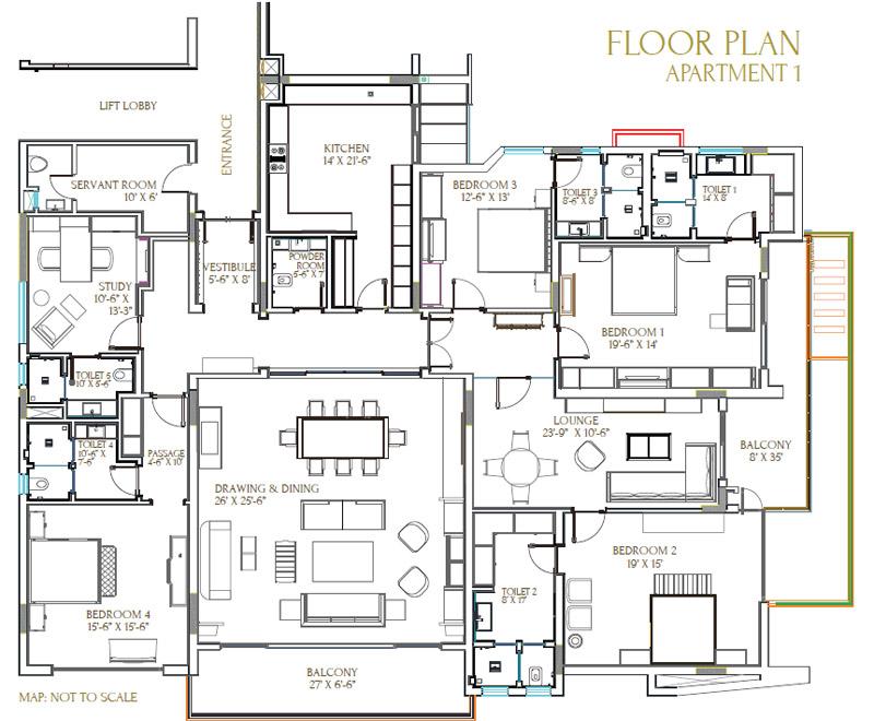 aarone botanica apartment 4bhk sq st 4500sqft 1
