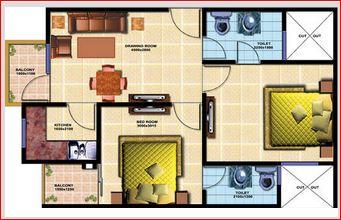 chiranjeevi royal avenue apartment 2bhk 830sqft