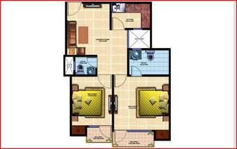 chiranjeevi royal avenue apartment 2bhk 890sqft