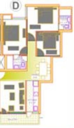 deoasis lifestyle silver arch apartment 3bhk 1250sqft