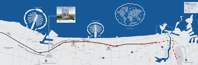 azizi aura residence location image9