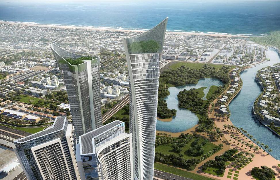 damac aykon city tower view5