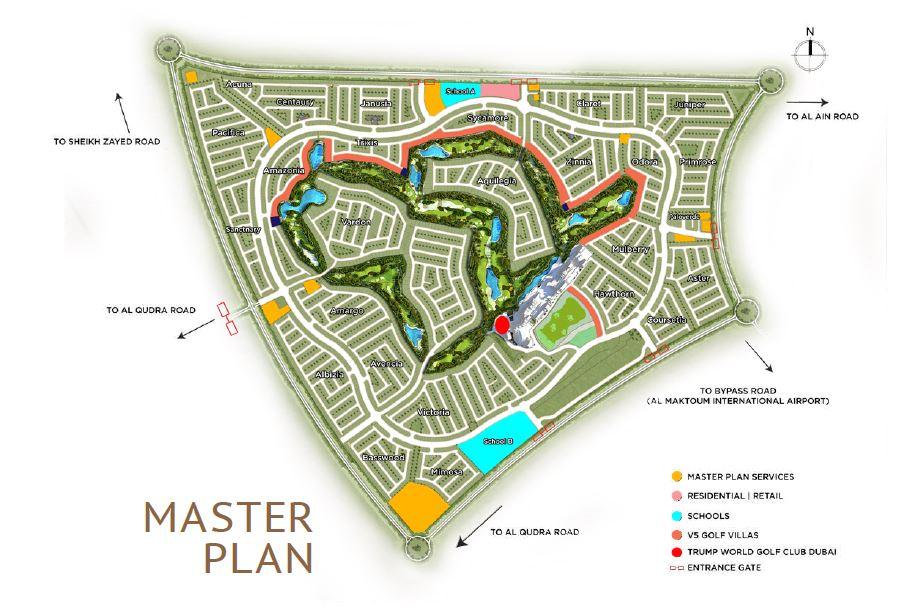 damac bait al aseel master plan image5