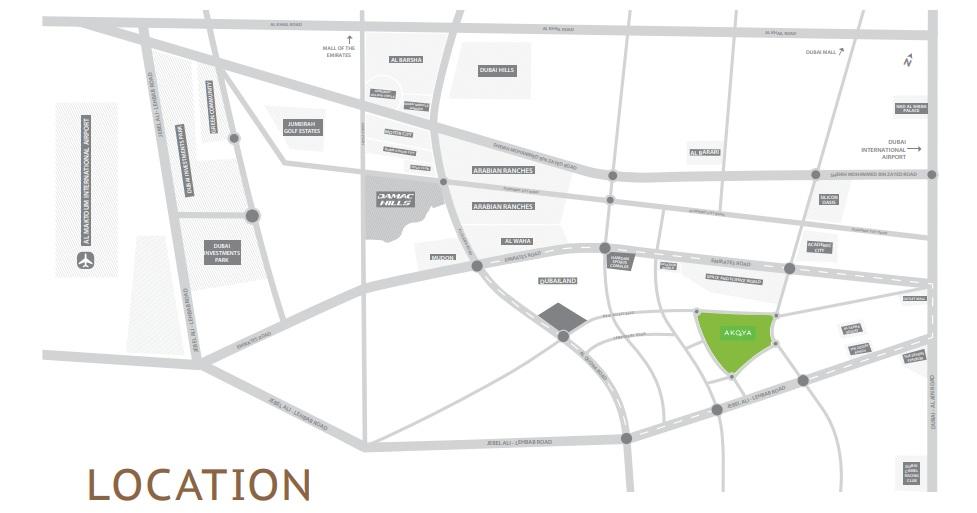 damac bait al aseel project location image1