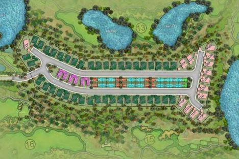 damac paramount villas master plan image4