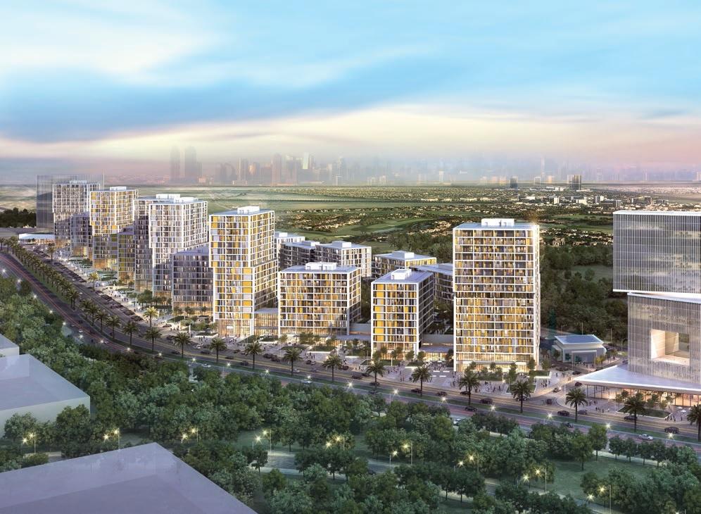 deyaar midtown noor project tower view1
