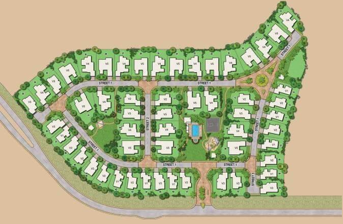 emaar aseel villas master plan image5
