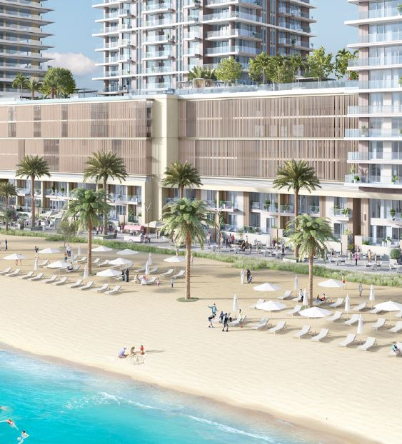 emaar beach isle amenities features7
