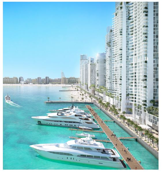 emaar beach isle amenities features8