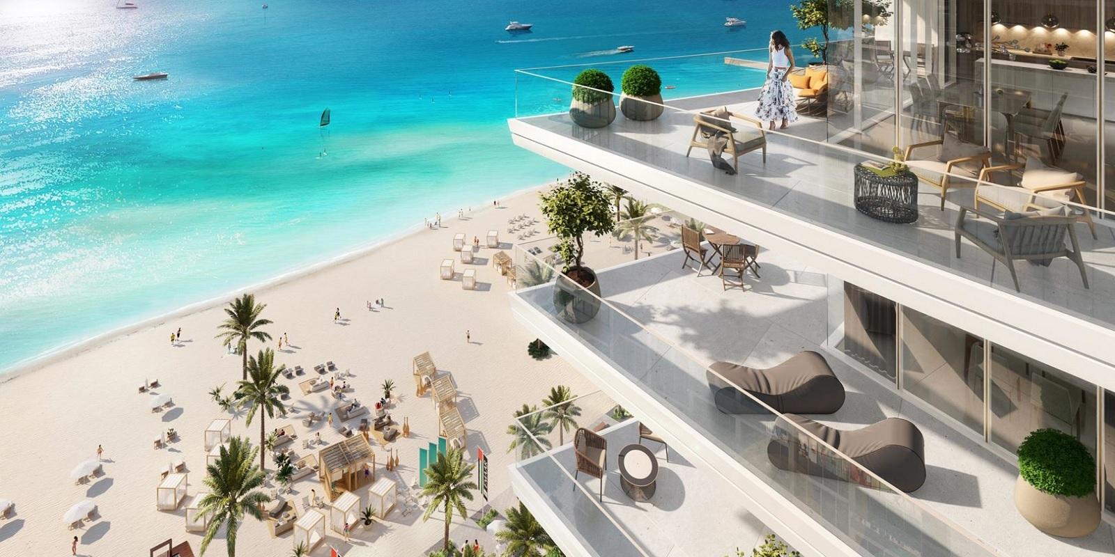 emaar beach vista project amenities features7