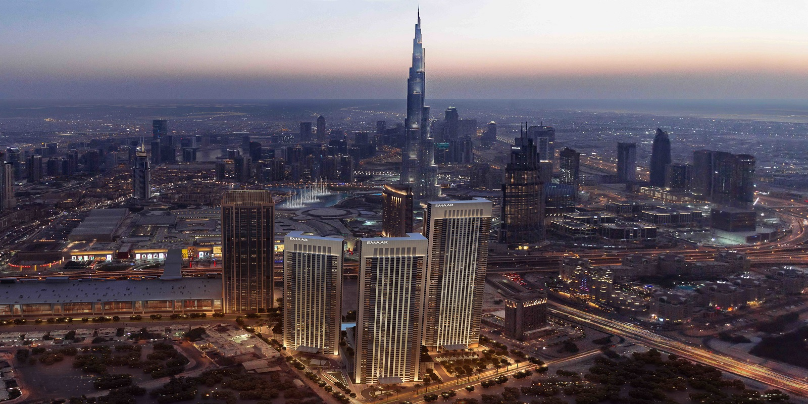 emaar downtown views 2 project tower view4
