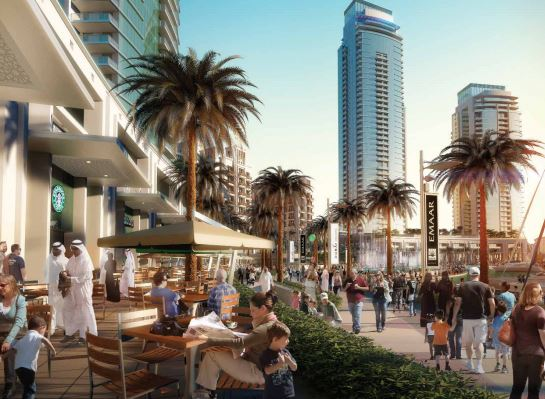 emaar dubai creek residences amenities features4
