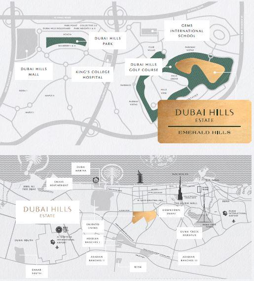 emaar emerald hills location image7