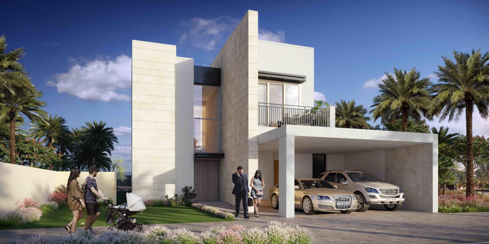 emaar golf links villas project tower view1