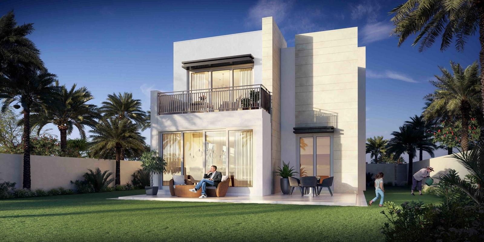 emaar golf links villas project tower view2