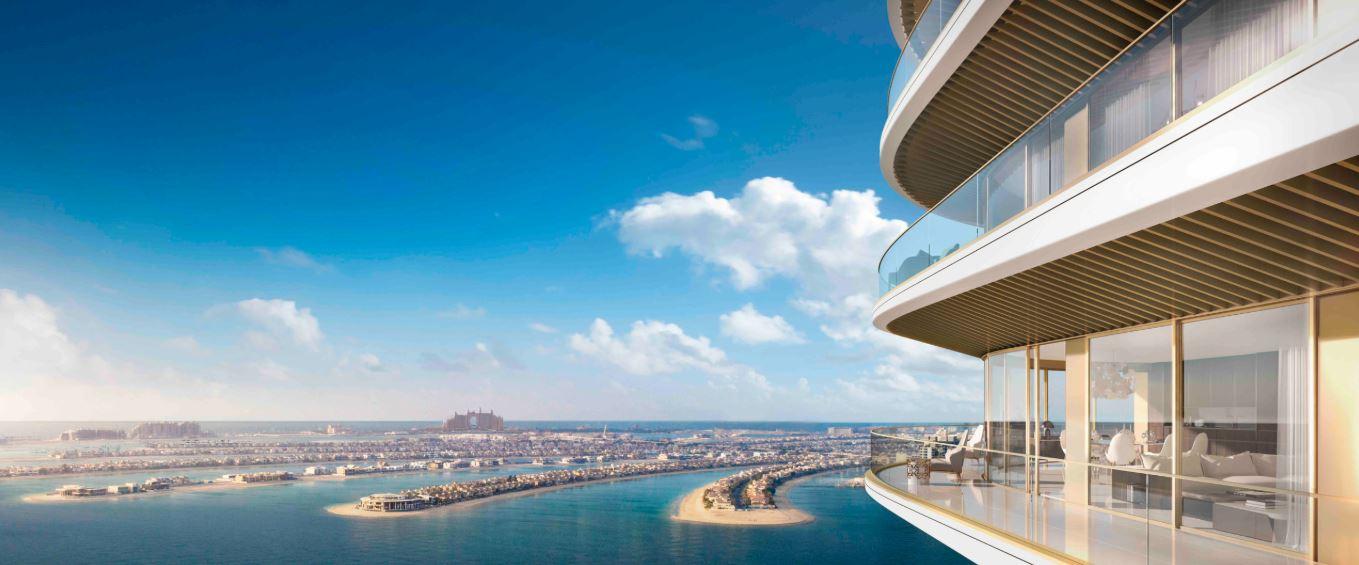 emaar grand bleu tower project tower view1