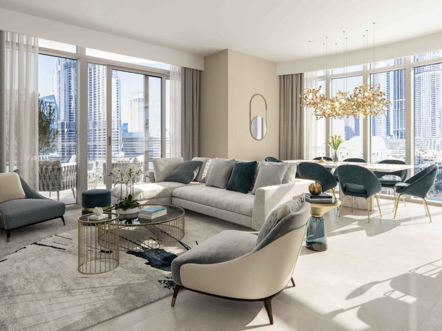 emaar grande signature residences project apartment interiors1