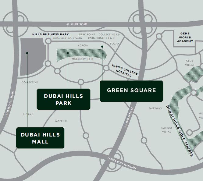 emaar green square location image6