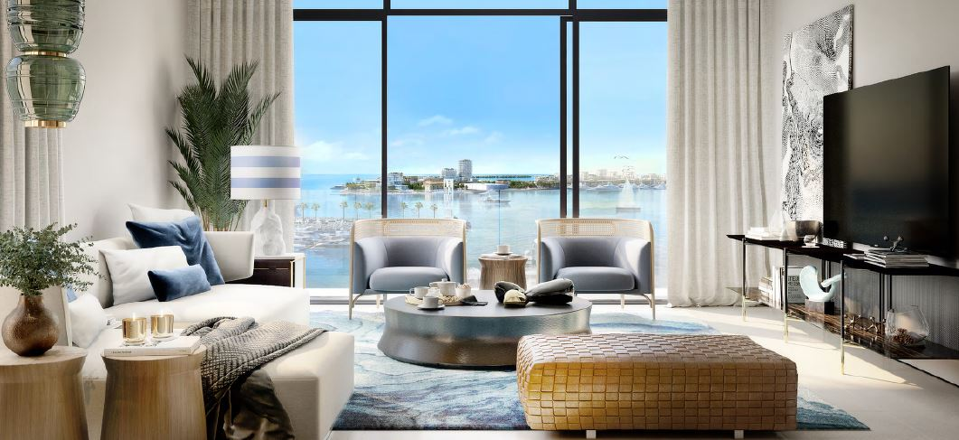emaar seashore apartment interiors5