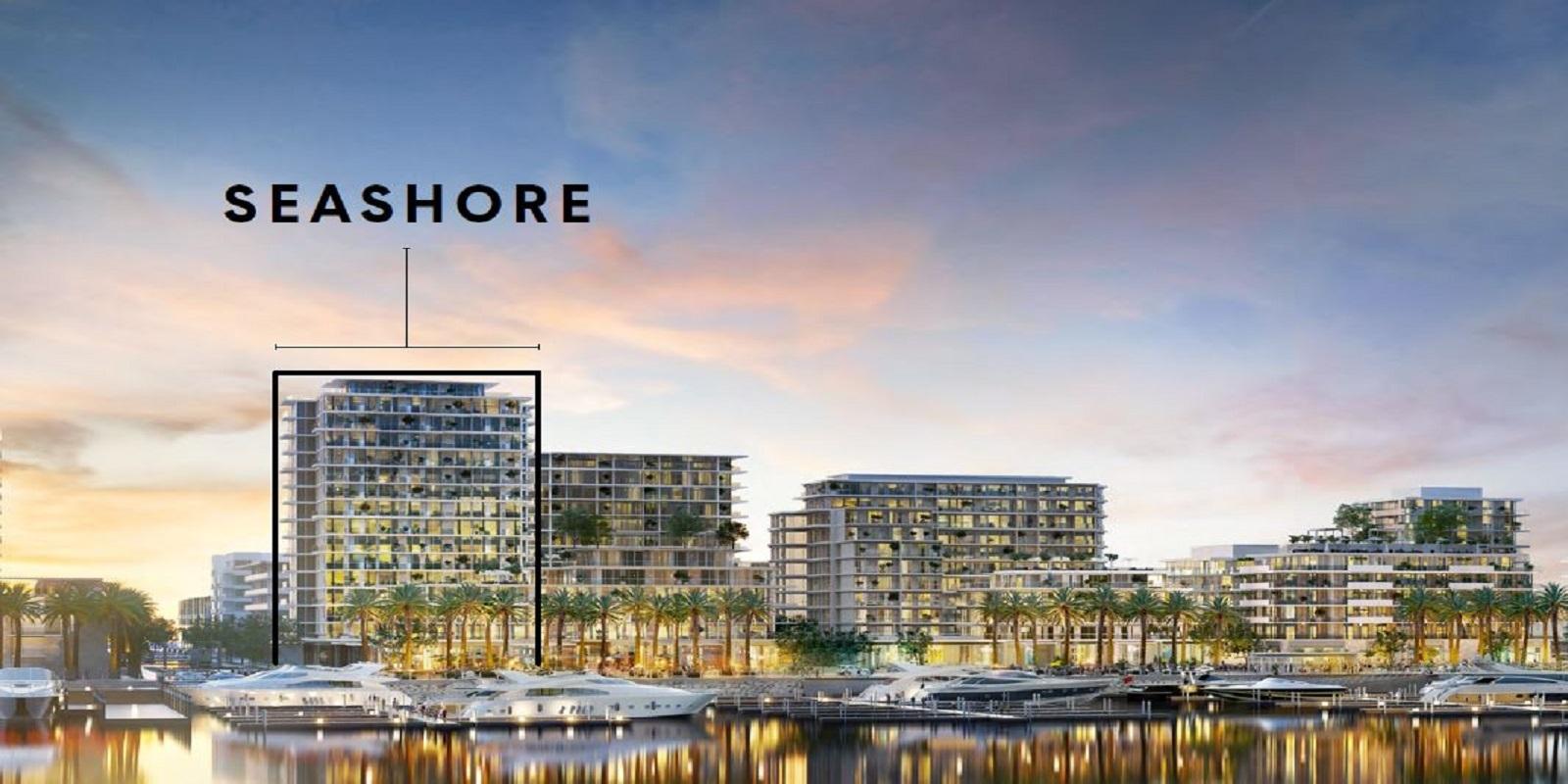 emaar seashore project tower view1