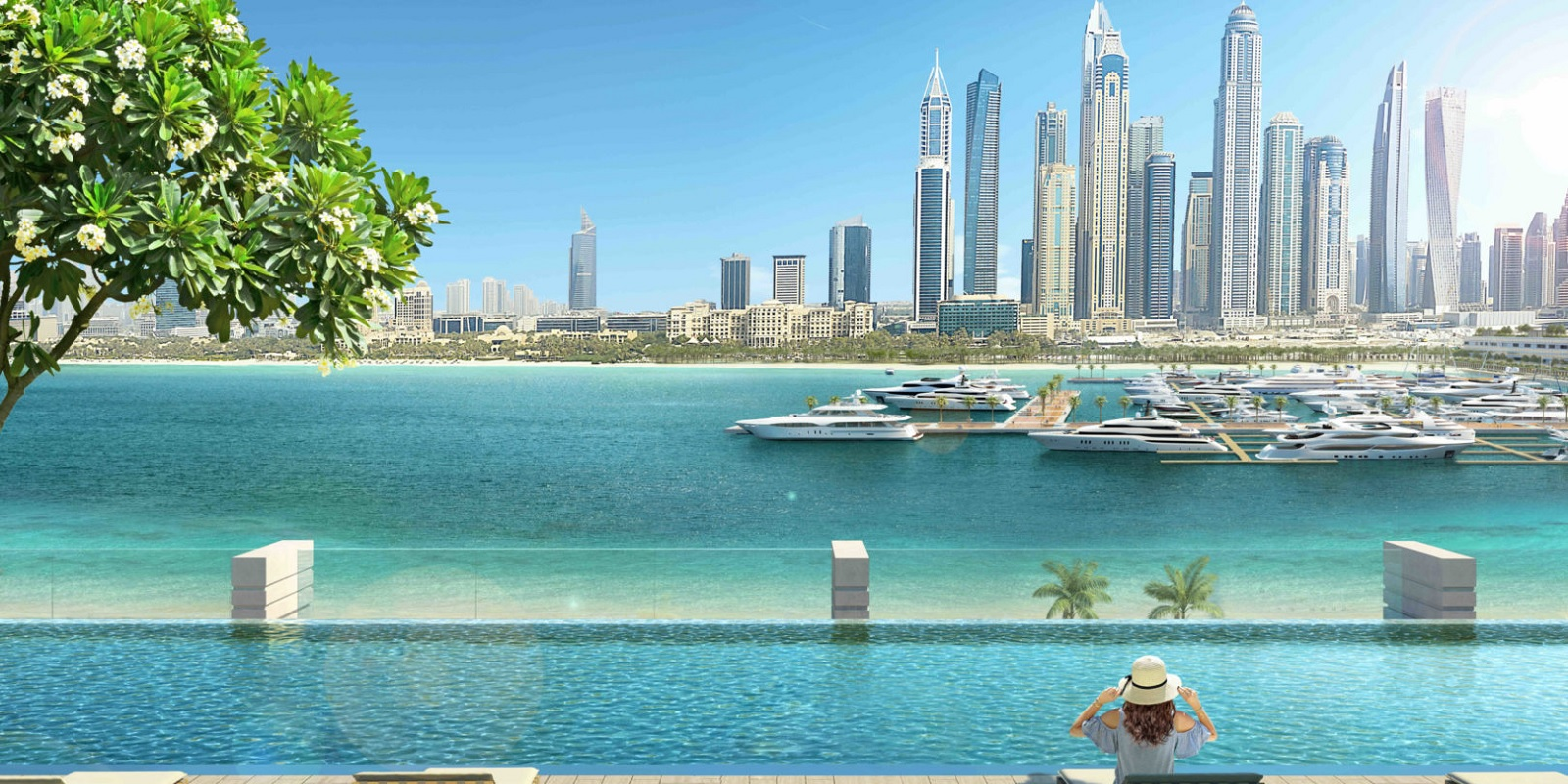 emaar south beach project tower view1
