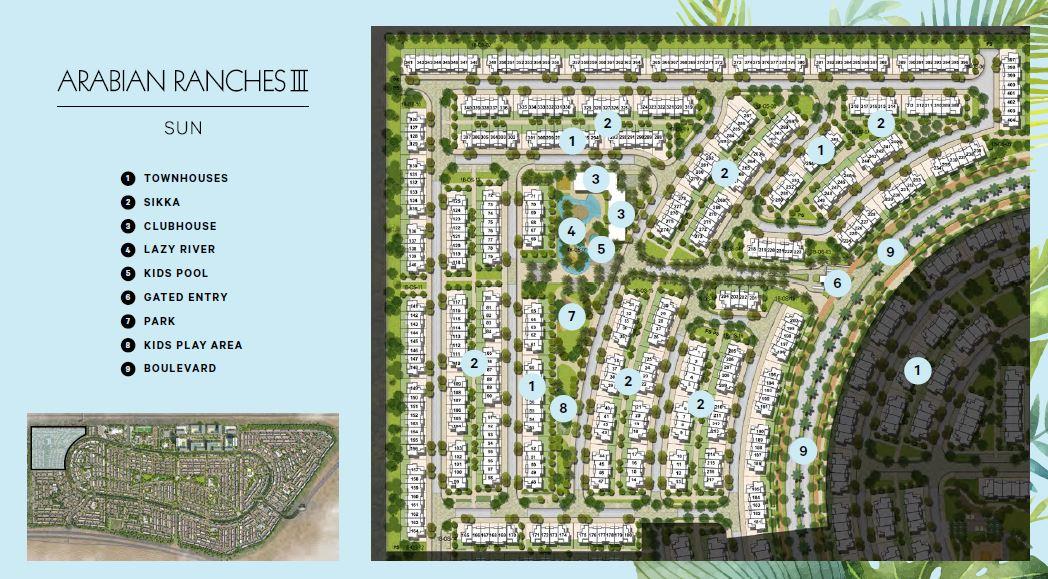 emaar sun project master plan image1