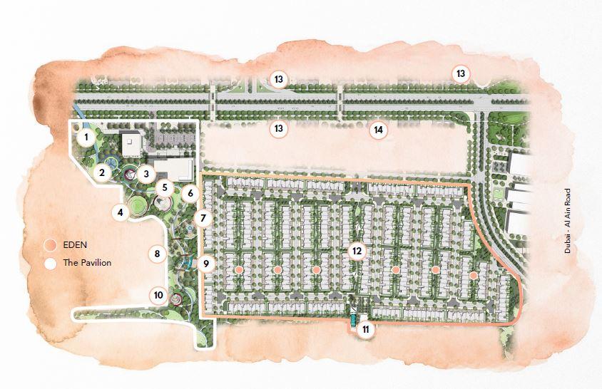 emaar the valley master plan image4