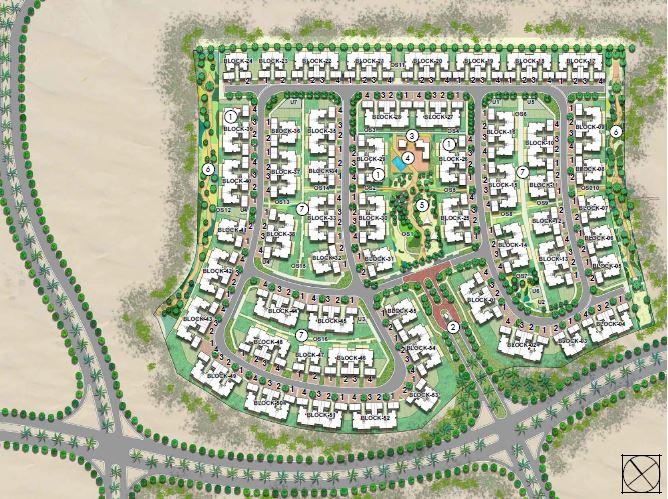 emaar urbana 3 master plan image7