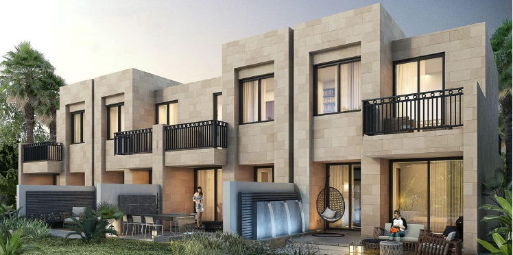 kenda villas by damac project tower view1