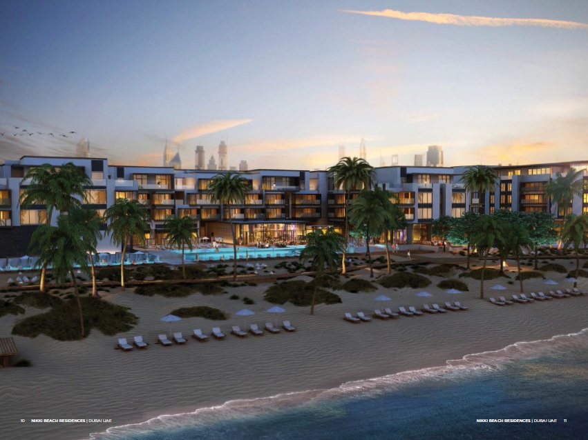 nikki beach residences project tower view3