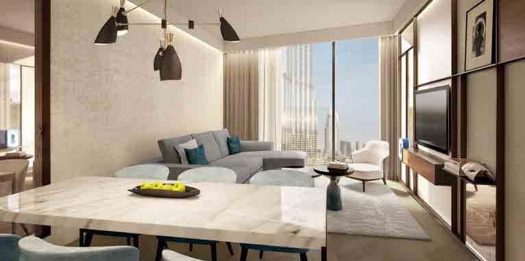 the address residences dubai opera apartment interiors8
