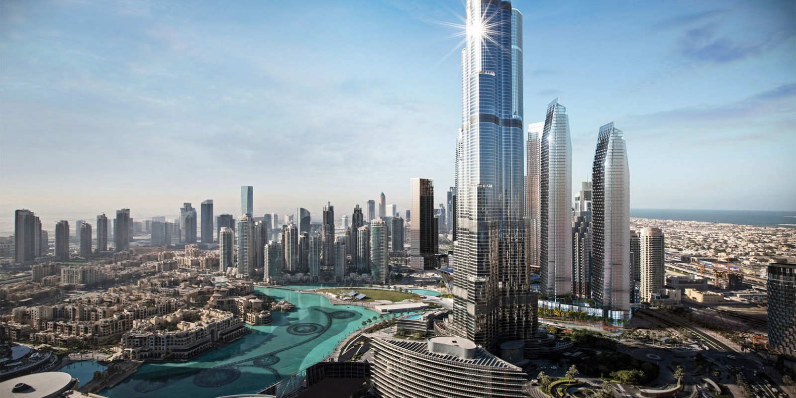 the address residences dubai opera project tower view2